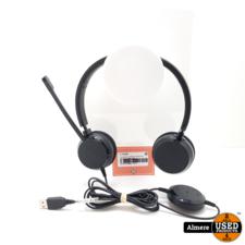 Jabra Evolve 20 Jabra Evolve 20 Stereo Headset met microfoon   Nette staat
