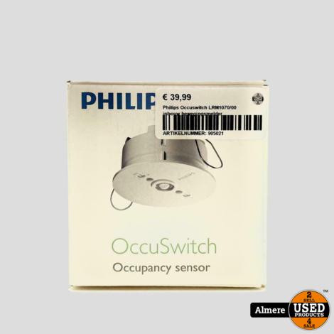 Philips Occuswitch LRM1070/00 inbouw bewegingsmelder   Nieuw