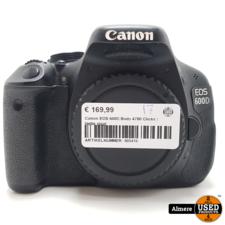 Canon Canon EOS 600D Body 4780 Clicks | Nette staat
