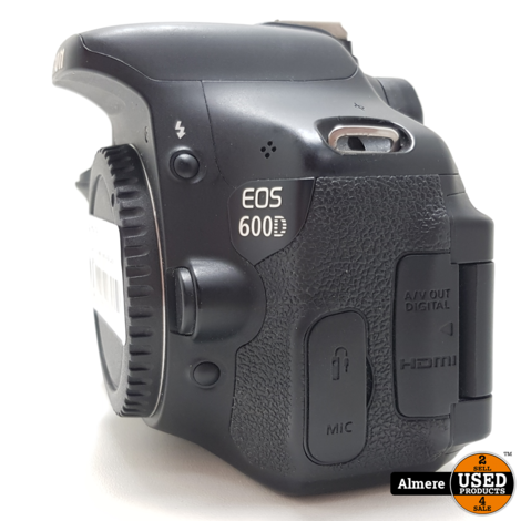 Canon EOS 600D Body 4780 Clicks | Nette staat