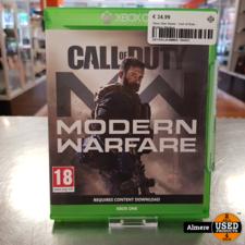 xbox one Xbox One Game: Call of Duty Modern Warfare