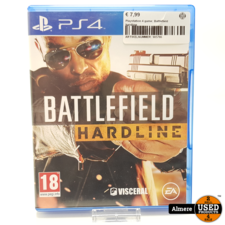 Battlefield Hardline Playstation 4 game: Battlefield Hardline