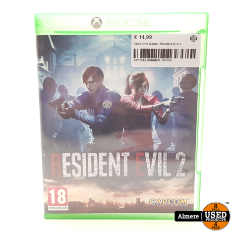 Xbox One Game: Resident Evil 2