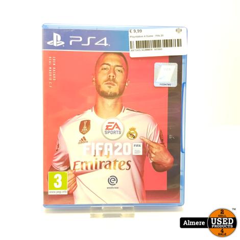 Playstation 4 Game : Fifa 20