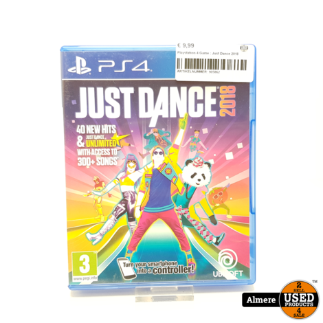 Playstation 4 Game : Just Dance 2018
