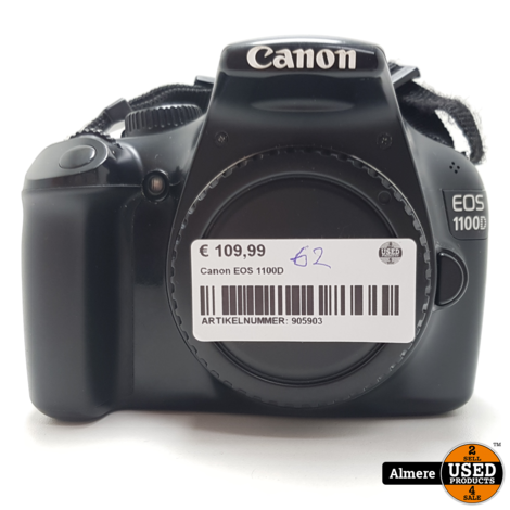 Canon EOS 1100D | Nette staat