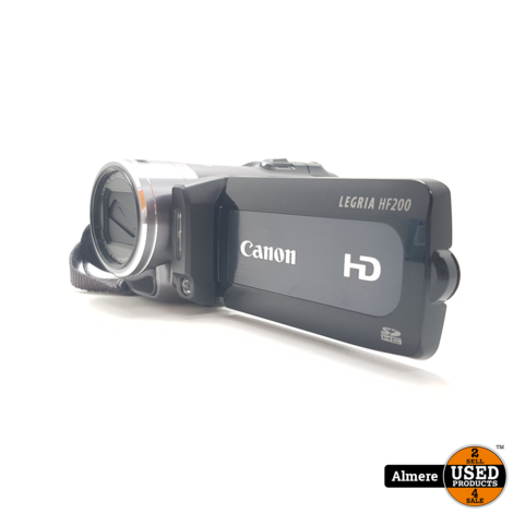 Canon LEGRIA HF200 SD HD-Camcorder | Nette staat