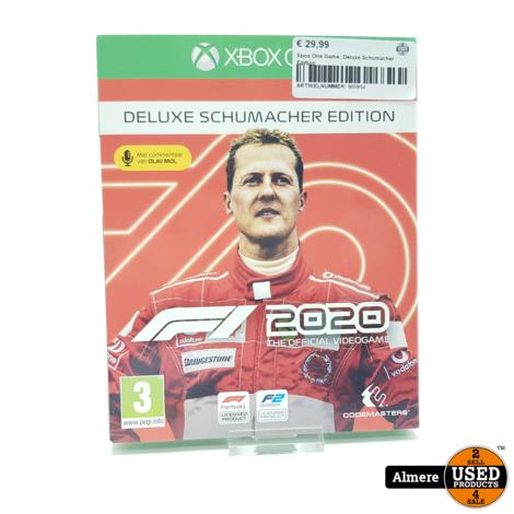 Xbox One Game: Deluxe Schumacher Edition