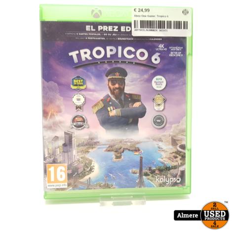 Xbox One Game: Tropico 6