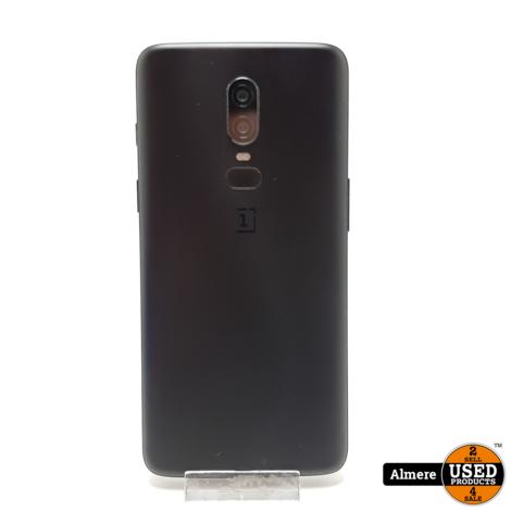 OnePlus 6 8GB 128GB Zwart   Nette staat