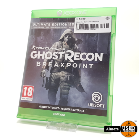 Xbox One Game: Ghost Recon Breakpoint