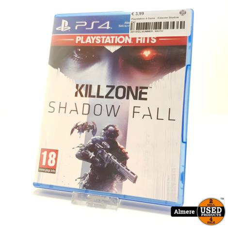 Playstation 4 Game : Killzone Shadow Fall