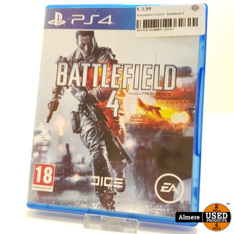 Playstation 4 Game : Battlefield 4