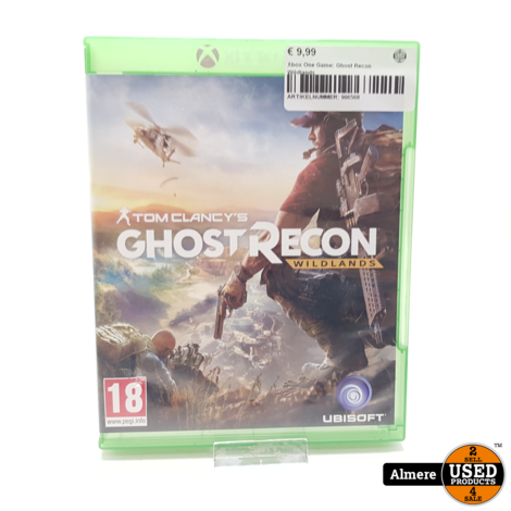 Xbox One Game: Ghost Recon Wildlands