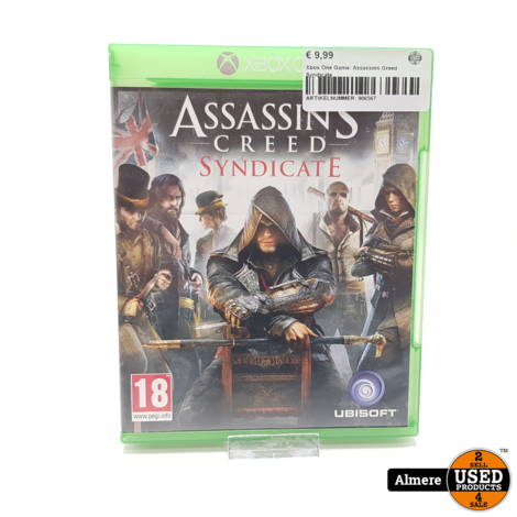 Xbox One Game: Assassins Greed Syndicate
