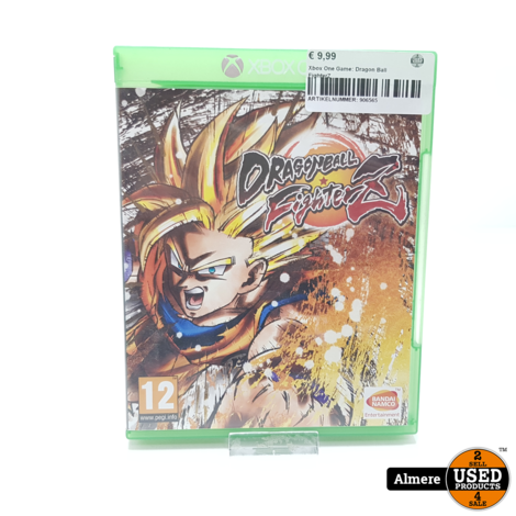 Xbox One Game: Dragon Ball FighterZ