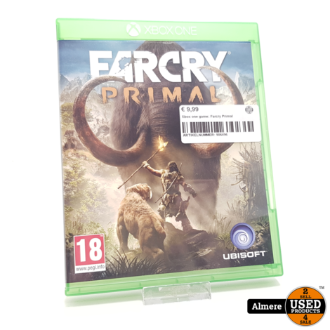 Xbox one game: Farcry Primal