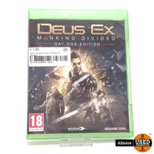 Xbox one game: Deus Ex Mankind divided