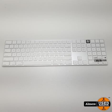 Apple Wireless Keyboard met numeriek (mist 1 knop)