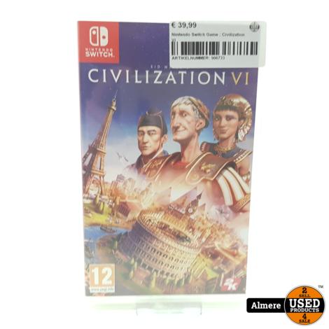 Nintendo Switch Game : Civilization VI