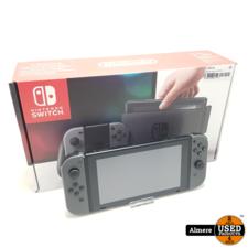 nintendo switch Nintendo Switch Zwart/Grijs   Compleet in doos