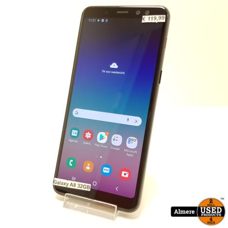 Samsung Galaxy A8 2018 32GB Zwart