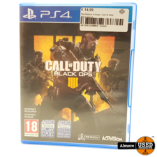 Sony PlayStation 4 Game: Call of Duty Black Ops 4