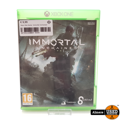 Xbox One Game: Immortal Unchained