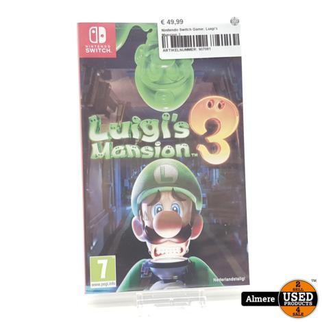 Nintendo Switch Game: Luigi's Mansion 3