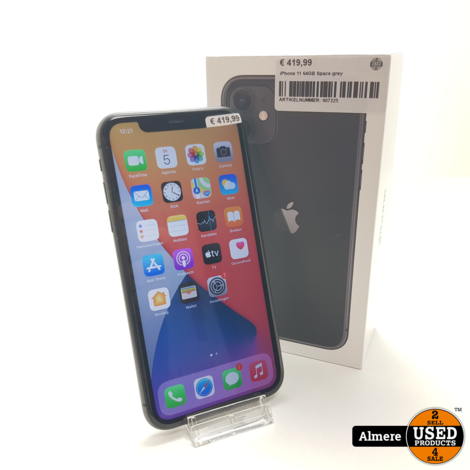 iPhone 11 64GB Space grey