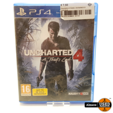 PlayStation 4 Playstation 4 Game: Uncharted 4 A Thief End
