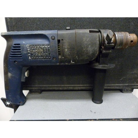 AEG SB2E 680 R boormachine in koffer