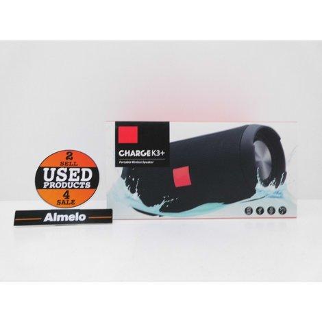 Charge K3+ Portable wireless Speaker Black