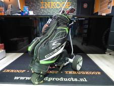 Cobra caddy 1 golf trolley elektrisch met cobra golf set
