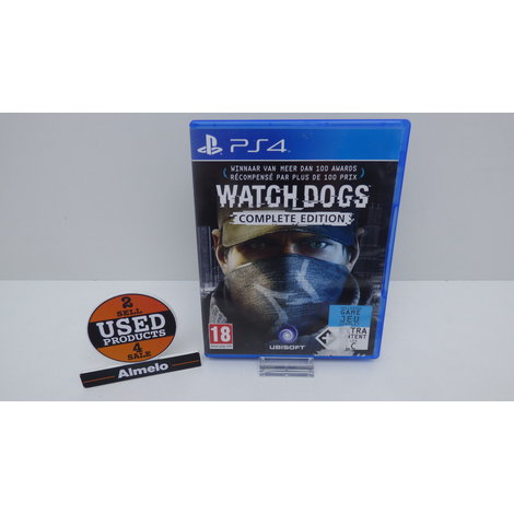Sony Playstation 4 Watch Dogs Complete Edition