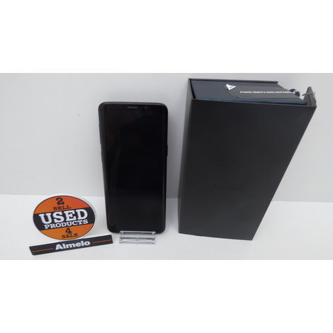 Samsung Galaxy S9 64GB Black met bon tot 03-10-2020