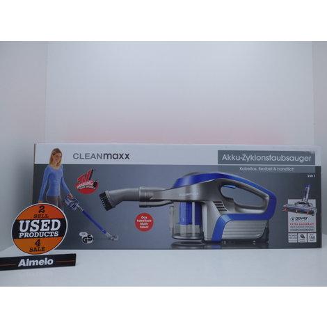 Clean maxx Accu-cycloonstofzuiger 150W