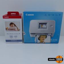 Canon Canon selphy CP750 met 100 Foto's en ink er voor