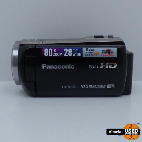 Panasonic FullHD HC-V520EG Zwart