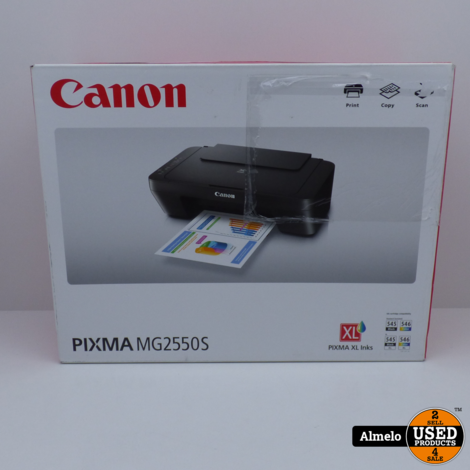 Canon Pixma MG2550S printer copy scan