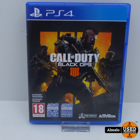 Sony Playstation 4 Call of Duty - Black Ops 4