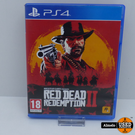 Sony Playstation 4 Red Dead Redemption 2