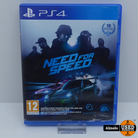 Sony Playstation 4 Need for Speed 2015