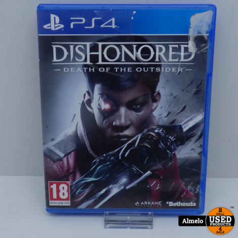 Sony Playstation 4 Dishonored Death of the Outsider