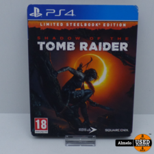 Sony Playstation 4 Sony Playstation 4 Shadow Of The Tomb Raider Limited Steelbook Edition