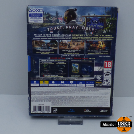 Sony Playstation 4 Far Cry 5 - Deluxe Edition