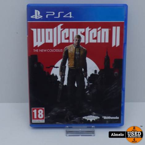 Sony Playstation 4 Wolfenstein II The New Colossus
