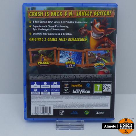 Sony Playstation 4 Crash Bandicoot N. Sane Trilogy