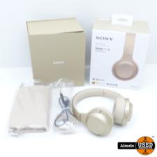 SONY Sony h.ear Serie WH-H800 Draadloze Hoofdtelefoon Goud