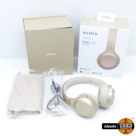 Sony h.ear Serie WH-H800 Draadloze Hoofdtelefoon Goud
